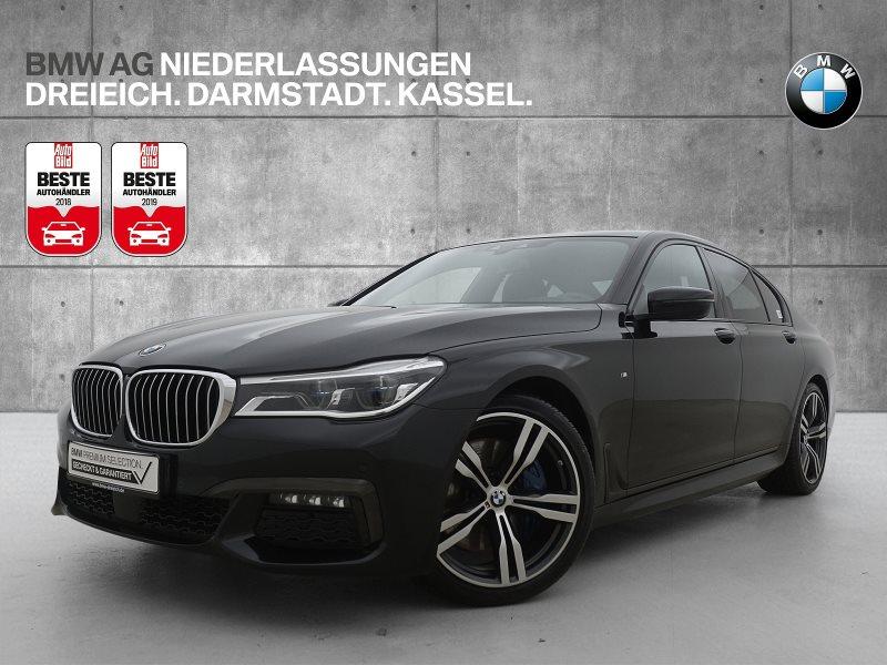 BMW 730d xDrive Limousine Sportpaket M Sportbr. DAB, Jahr 2017, Diesel