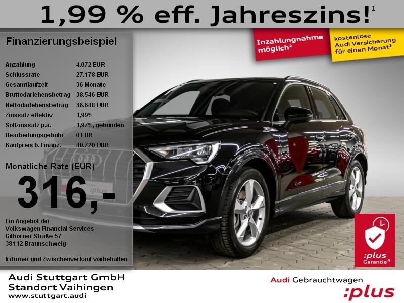 Audi Q3 advanced 45 TFSI quattro VirtCo Navi ACC, Jahr 2020, Benzin