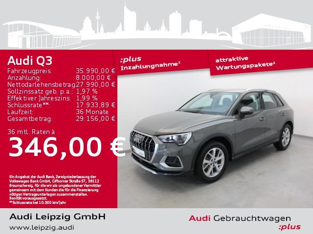 Audi Q3 35 TFSI advanced *Audi pre sense front*DAB*, Jahr 2020, Benzin