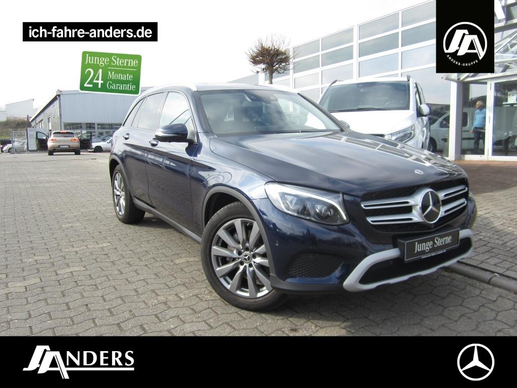 Mercedes-Benz GLC 350 d 4M Comand+AHK+Distr+360°+LED+Sthz.+PDC, Jahr 2018, Diesel