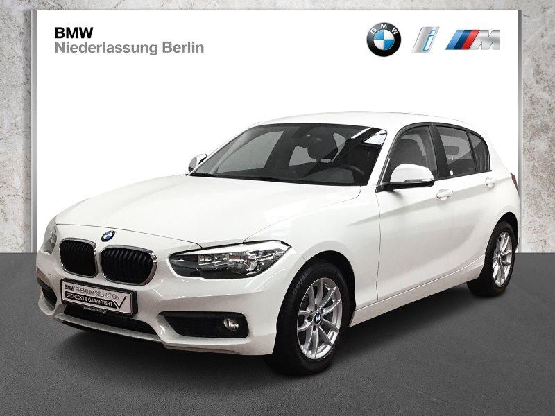 BMW 118i 5-Türer EU6 Aut. Navi Tempomat Alarm PDC, Jahr 2017, Benzin