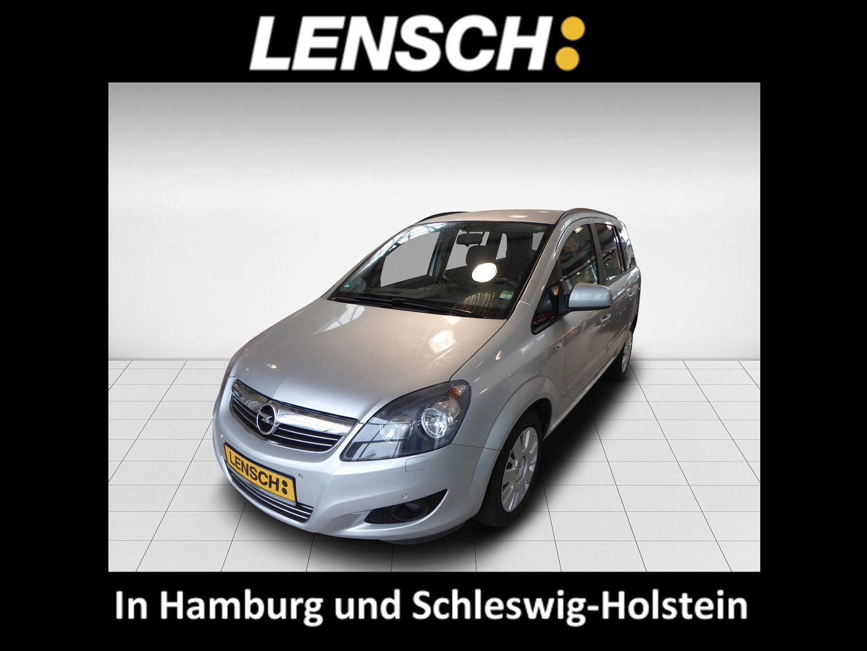 Opel Zafira B 1.6T CNG Family, Jahr 2012, Gas