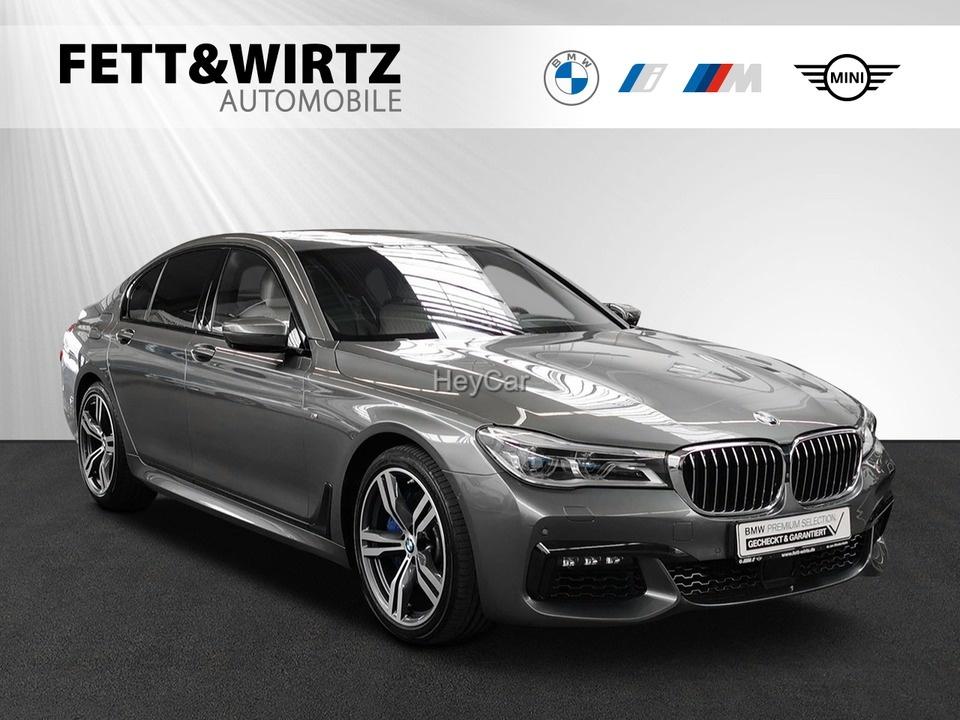 BMW 750i xDrive M Sport TV GSD NaviProf Kamera DA+, Jahr 2018, Benzin