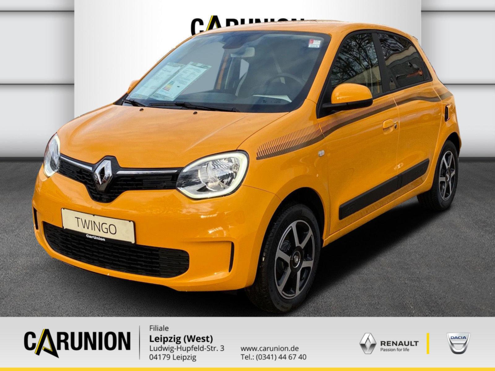 Renault Twingo LIMITED SCe 75 Start & Stop Deluxe Paket, Jahr 2020, Benzin