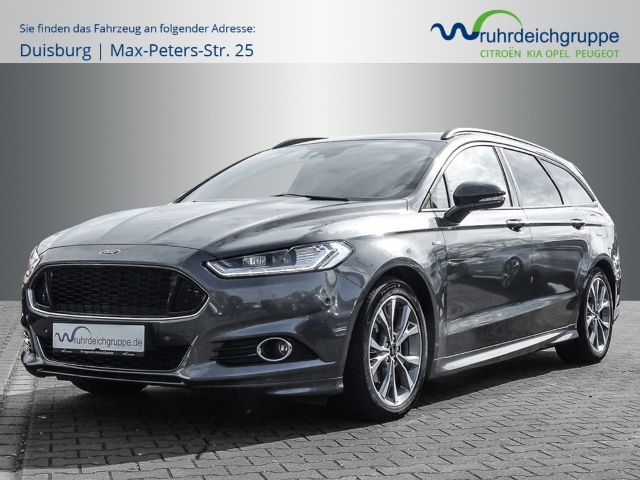 Ford Mondeo Turnier ST-Line 2.0 EcoBoost Navi+AUT+LED+Sitzhzg-hinten+, Jahr 2018, Benzin
