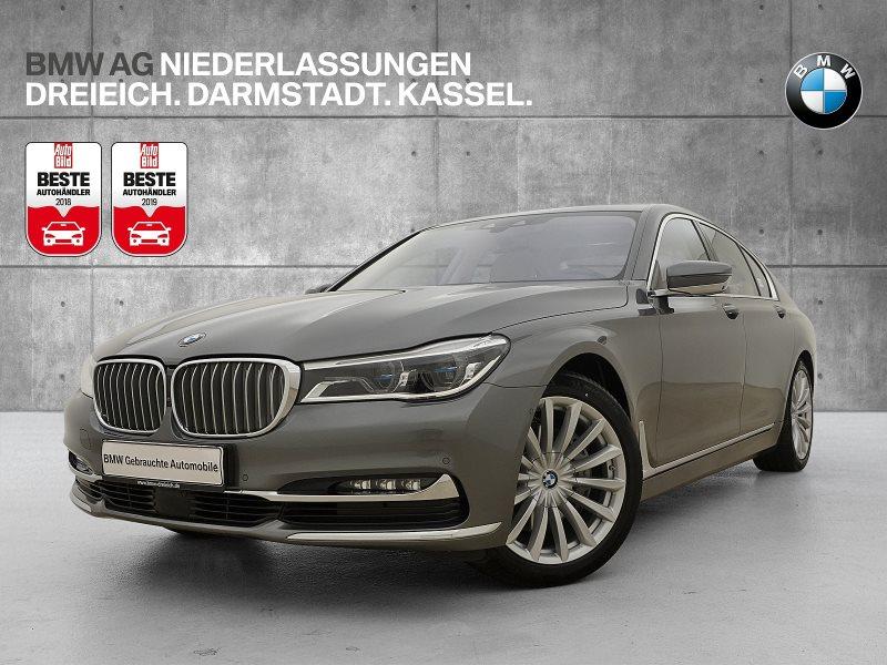BMW 740i Limousine Ferngesteuertes Parken Head-Up, Jahr 2017, Benzin
