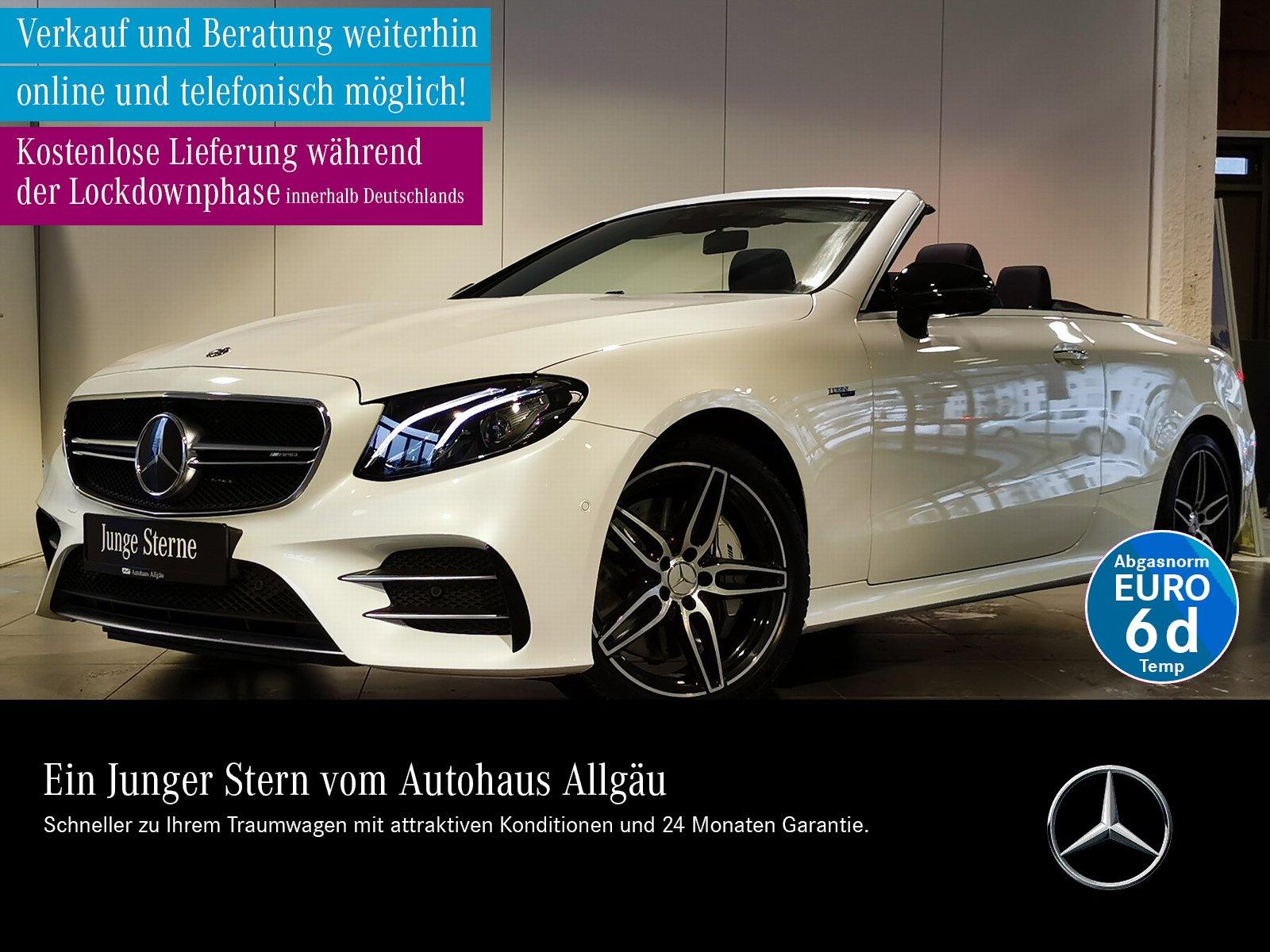 Mercedes-Benz AMG E 53 4M+ CABRIO+360°+HUD+STANDHZG+SITZKLIMA+, Jahr 2019, Benzin
