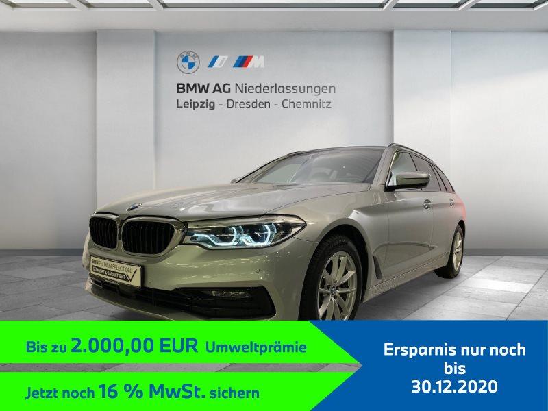BMW 520d Touring EURO6 Head-Up HiFi DAB LED Pano.Dach Fl.Ass., Jahr 2019, Diesel