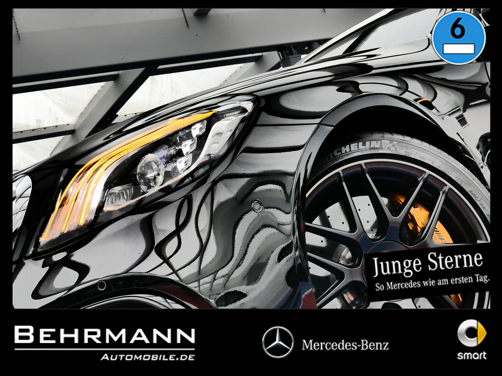 Mercedes-Benz S 63 AMG 4M lang ++Distronic+Vmax+Burmester+LED+, Jahr 2018, Benzin