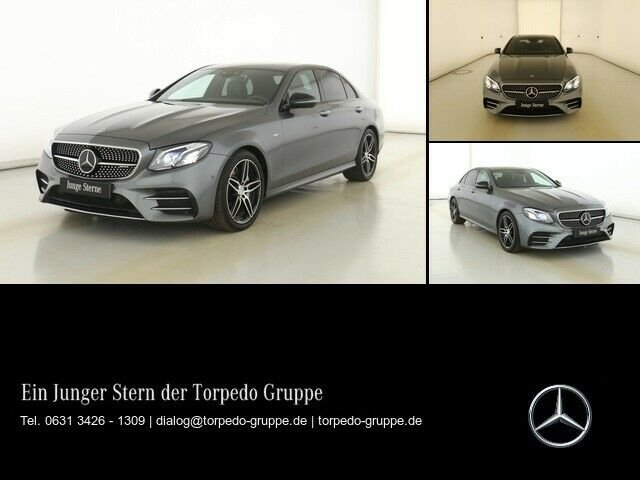 Mercedes-Benz E 53 AMG 4M+ NAVI+COMAND+MULTIBEAM+LED+SHD+AHK+, Jahr 2018, Benzin