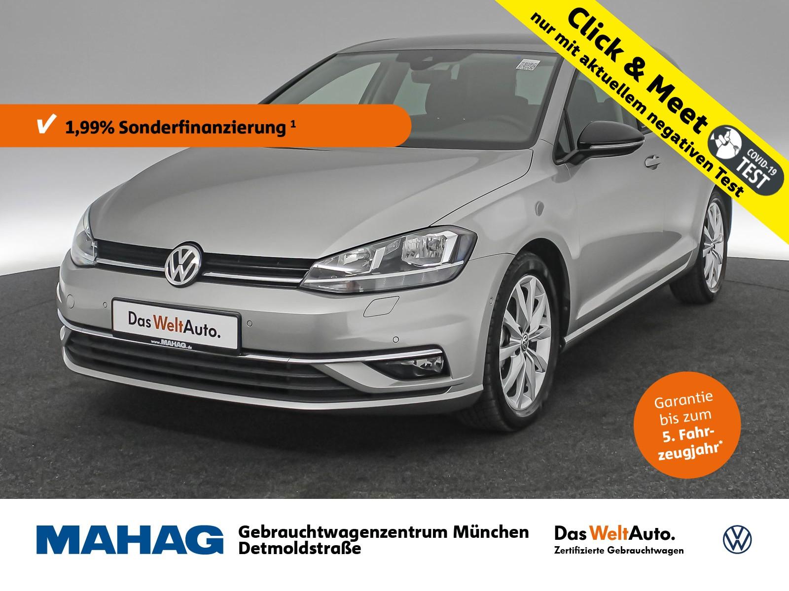 Volkswagen Golf VII 1.5 TSI IQ.DRIVE Navi Standhz. Sitzhz. ParkAssist LightAssist FrontAssist 17Zoll 6-Gang, Jahr 2019, Benzin