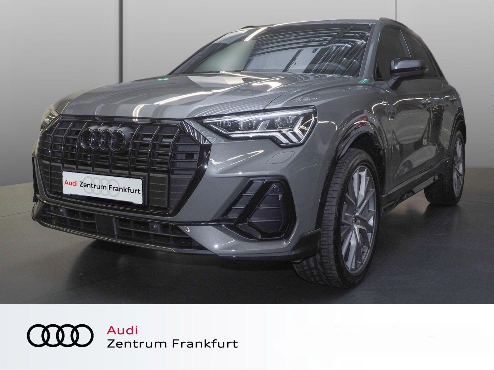Audi Q3 35 TFSI S line S tronic MatrixLED Navi Panorama VC DWA Bluetooth, Jahr 2021, Benzin