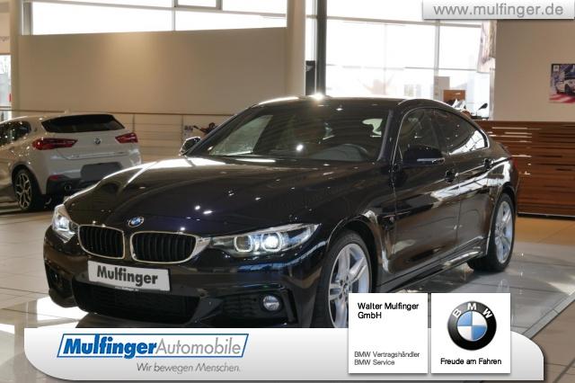 BMW 440i Gran Coupe M Sport Navi Leder Memory, Jahr 2017, petrol
