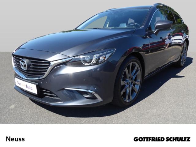 Mazda 6 Kombi 2.2CDTI NAVI KLIMA GRA PDC SHZ SPORT, Jahr 2015, Diesel