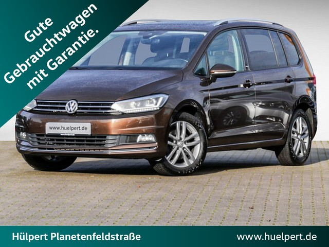 Volkswagen Touran 1.4 Sound DSG LED NAVI PANO CAM APP-CONN ACC, Jahr 2017, Benzin