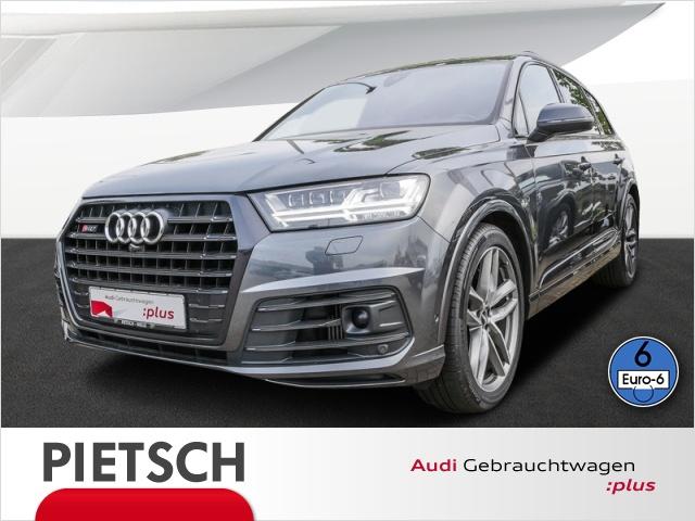 Audi SQ7 4.0 TDI-Matrix-LED HUD VC AHK Navi Pano StHZ, Jahr 2016, Diesel
