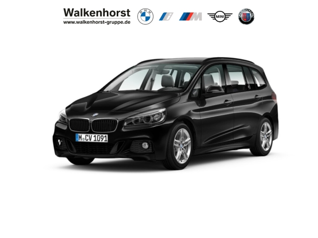 BMW 220 Gran Tourer i M SportPaket BusinessPaket AHK LED Navigation, Jahr 2016, Benzin