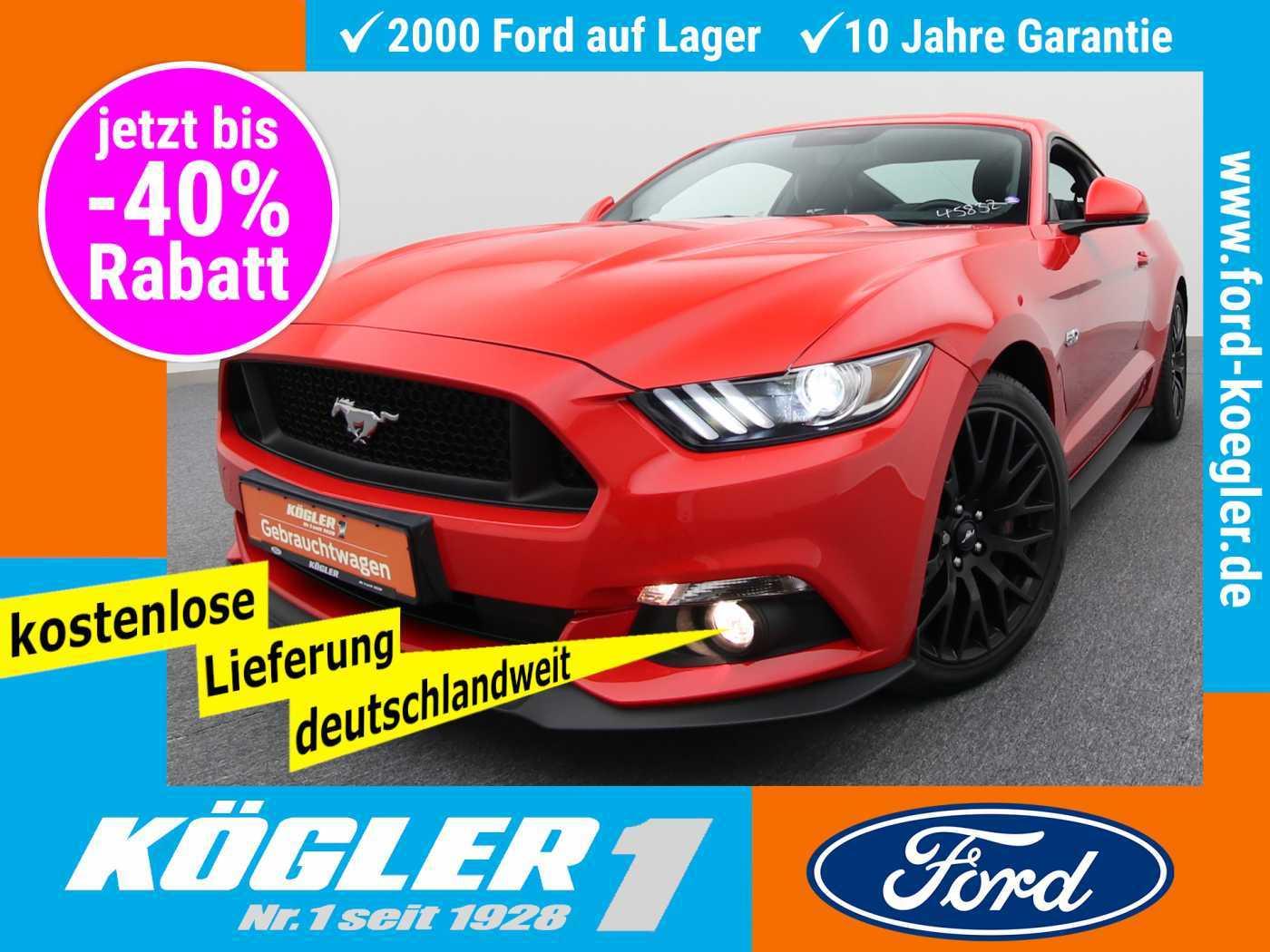 Ford Mustang Fastback 5.0 GT V8 Aut./Premium-P.2, Jahr 2017, Benzin