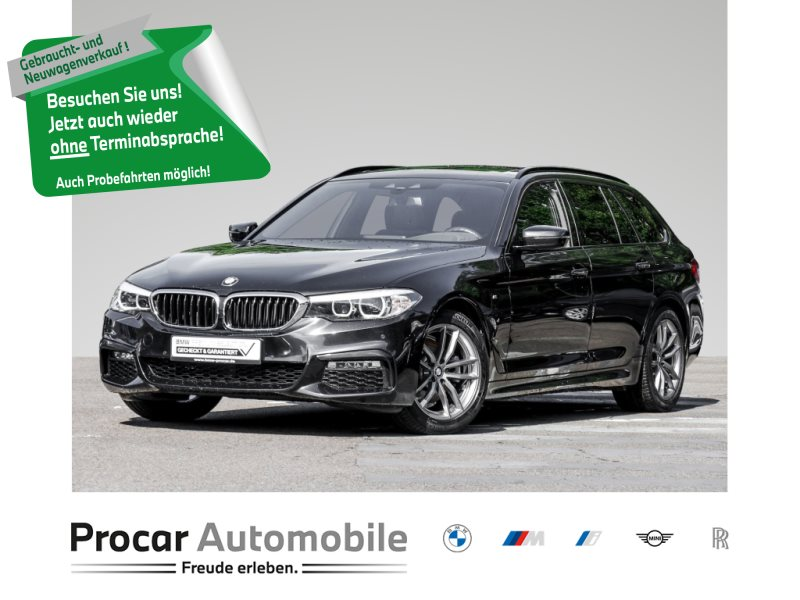BMW 520d TOURING+M-SPORTPAKET+HEAD-UP+LED+WLAN+RFK, Jahr 2018, Diesel