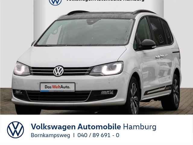 Volkswagen Sharan Black Style 2.0 TDI SCR DSG LEDER/SD, Jahr 2020, Diesel