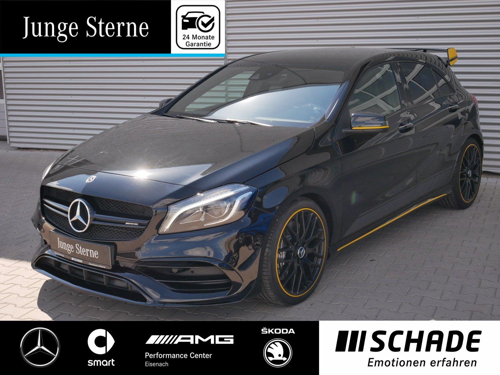 Mercedes-Benz A 45 AMG 4M Yellow Night Edit.*Performance Sitz*, Jahr 2017, Benzin