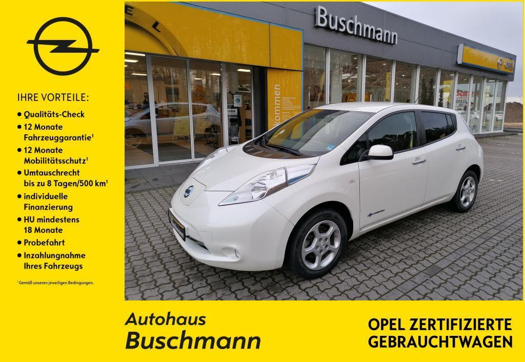 Nissan Leaf 24 kWh o.Batterie Acenta +WKR+WALLBOX+, Jahr 2015, Elektro