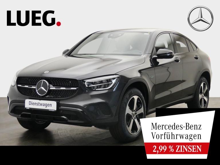 Mercedes-Benz GLC 300 e 4M Coupé NIGHT+HUD+SHD+AHK+TOTW+KAMERA, Jahr 2021, Hybrid