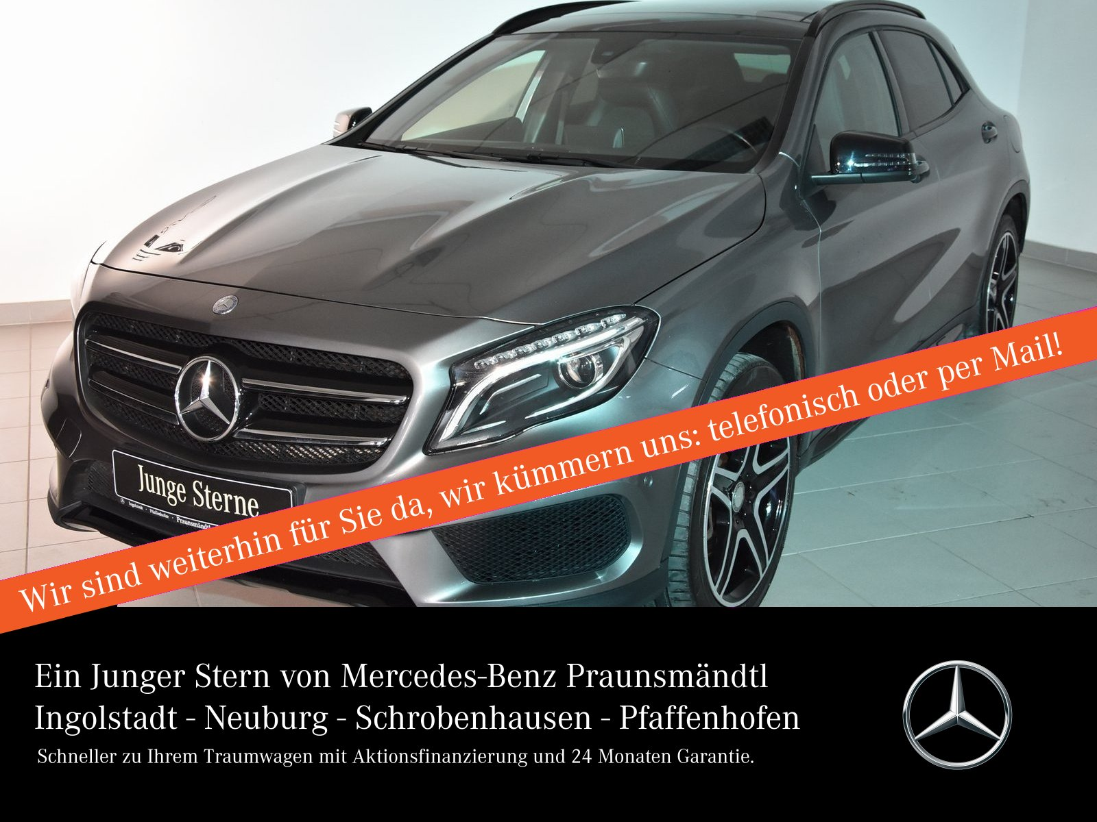 Mercedes-Benz GLA 220 d 4M AMG Sport Panora/Kamera/Xenon/Sound, Jahr 2015, Diesel