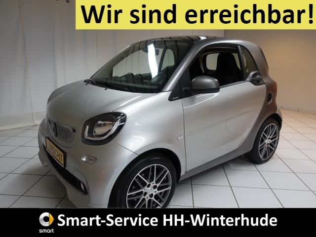 smart fortwo Brabus AUTOMATIK+SITZHZG+LED+SENSOR-PAKET, Jahr 2017, Benzin