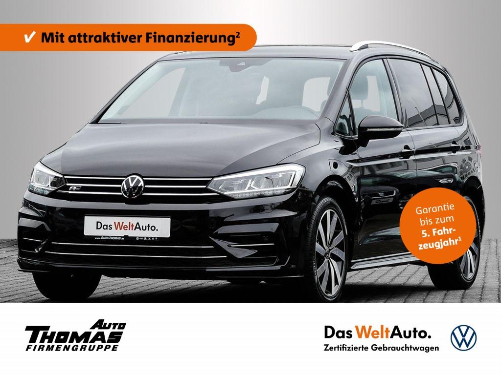 "Volkswagen Touran R-Line 1.5 TSI DSG LED+NAV+AHK+STDHZG+18"", Jahr 2021, petrol"