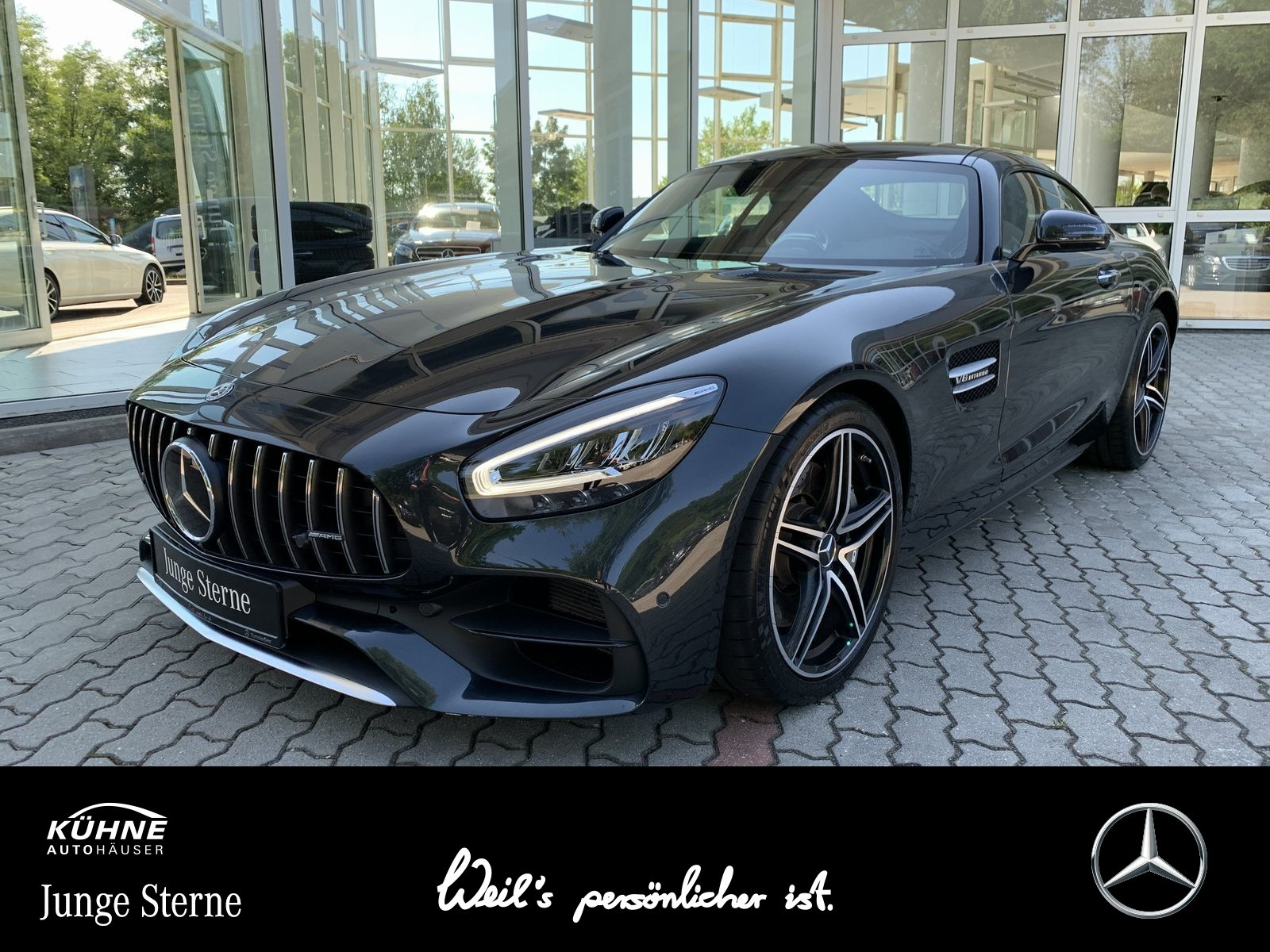 Mercedes-Benz Mercedes-AMG GT+AbGas+Pano+Distro+Key+Memory+Rüc, Jahr 2019, Benzin