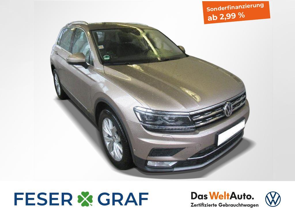 Volkswagen Tiguan Highline 2.0 TDI 4Motion DSG Standheizung, Jahr 2017, Diesel