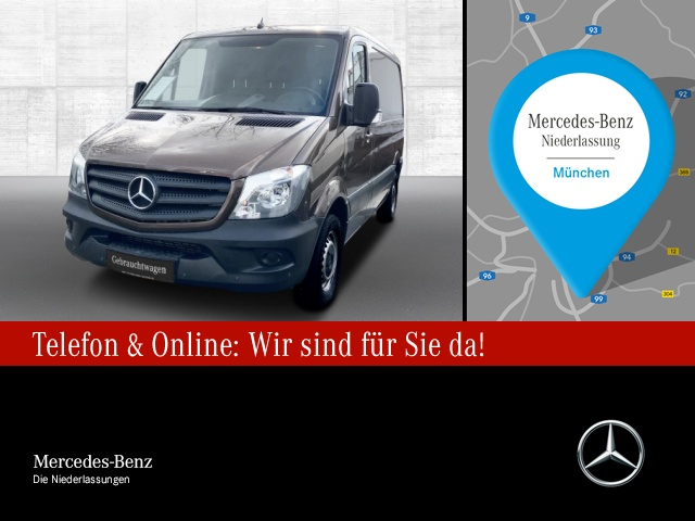 Mercedes-Benz Sprinter 210 CDI Kasten Kompakt Navi Parktronic, Jahr 2016, Diesel