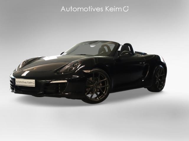 Porsche Boxster Black Edition 2.7 PDK SPORTABGSAS PCM SH, Jahr 2015, Benzin