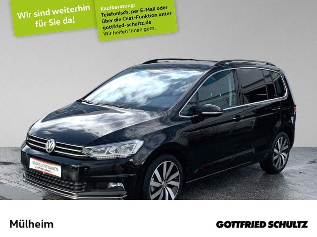 Volkswagen Touran 2.0 TDI LED NAVI AHK PANO STHZ 5-SITZER Highline, Jahr 2020, Diesel