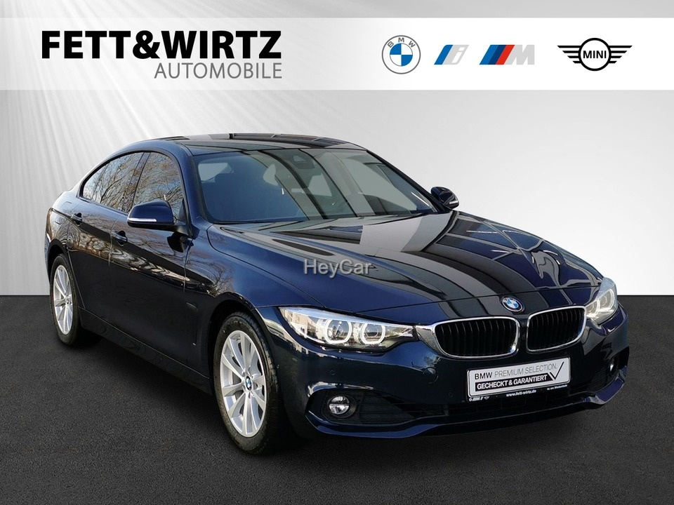BMW 420 Gran Coupe Advantage Navi 17''LM RKamera LED, Jahr 2017, Benzin