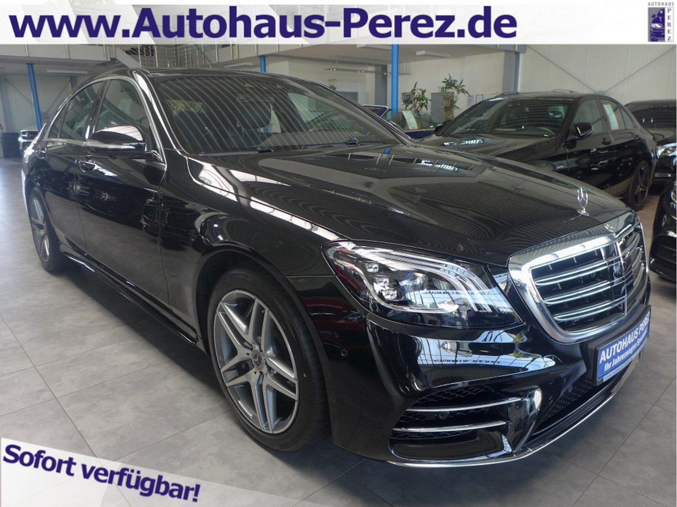 Mercedes-Benz S 450 AMG TV-NACHTSICHT-HUD-ENTERTAIN-DISTR-BEAM, Jahr 2018, Benzin