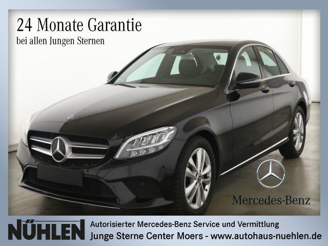 Mercedes-Benz C 180 AVANTGARDE+LED+Automatik+Sitzh+Rückfahr., Jahr 2019, Benzin