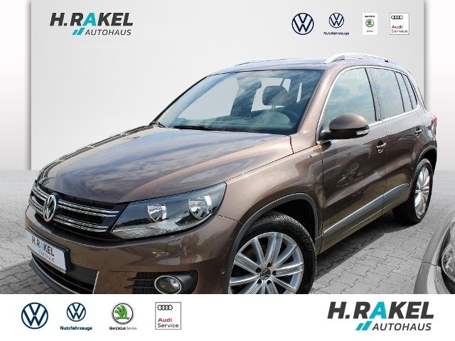 Volkswagen Tiguan Sport & Style 2.0 TDI BMT *AHK*KLIMA*, Jahr 2014, Diesel
