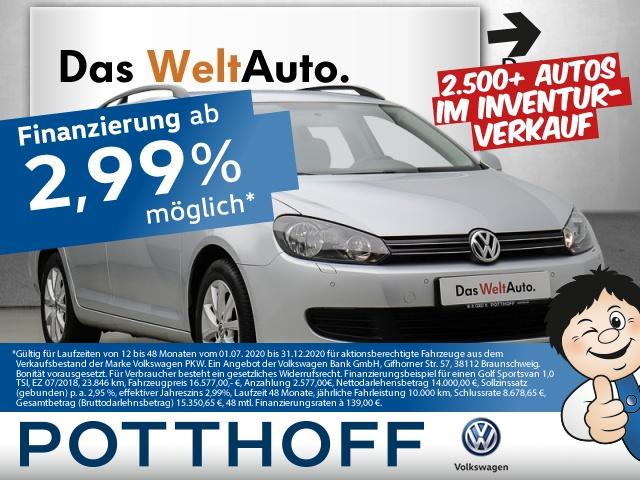 Volkswagen Golf VI Variant 1.6 TDI Comfortline Tempomat PDC, Jahr 2013, Diesel