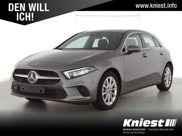 Mercedes-Benz A 200 Progressive+7G-DCT+Navi Premium+LED+Lenkradheizung, Jahr 2020, Benzin