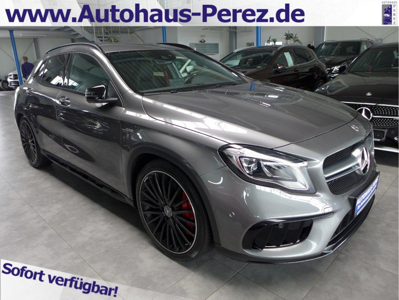 Mercedes-Benz GLA 45 AMG 4M NIGHT-COMAND-PERABGAS-20-HIFI-360°, Jahr 2018, petrol