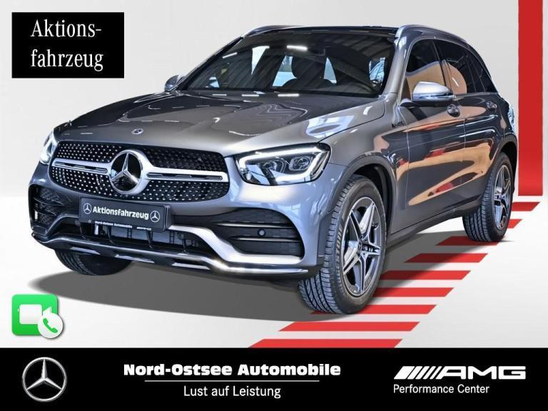 Mercedes-Benz GLC 200 4m AMG PANO MULTIBEAM 360° KEYLESS-GO, Jahr 2020, Benzin