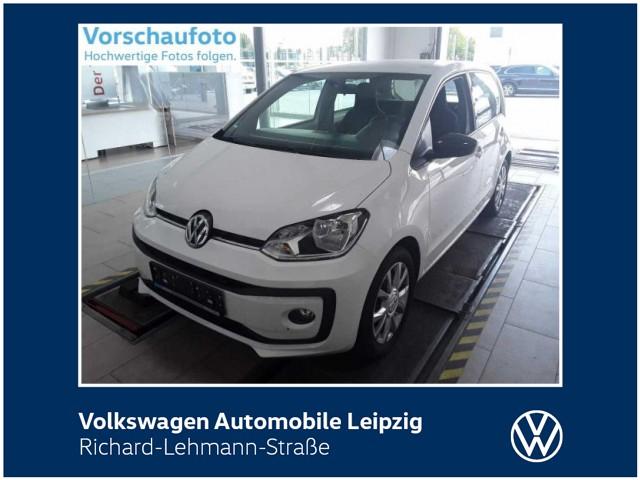 """Volkswagen up! """"Club up!"""" 1.0 BMT *Vorb. Navi*SHZ*, Jahr 2017, petrol"""
