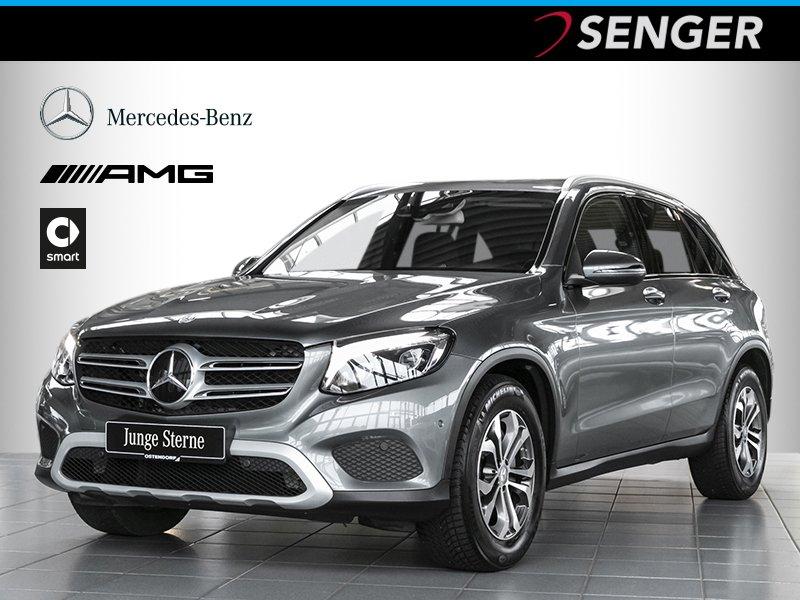 Mercedes-Benz GLC 220 d 4M *Distronic*Comand*LED*AHK*Spur*PTS*, Jahr 2015, diesel