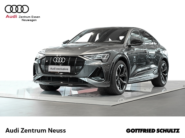 Audi e-tron Sportback S quattro Leder LED Navi Keyless Dyn. Kurvenlicht e-Sitze ACC Rückfahrkam., Jahr 2021, Elektro
