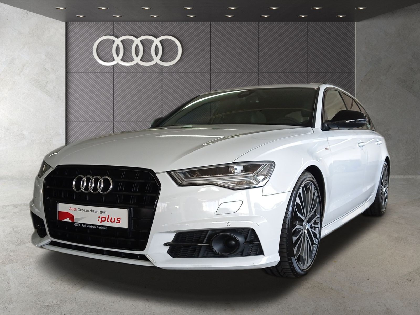 Audi A6 Avant 2.0 TDI S tronic S line Black Edition Navi Matrix-LED Panorama, Jahr 2018, Diesel