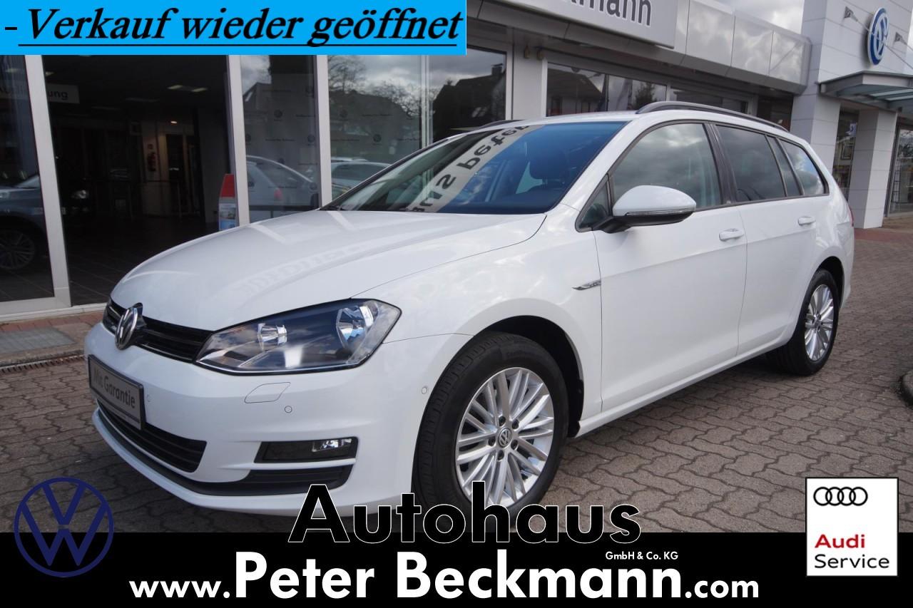 Volkswagen GOLF VARIANT 1.2 TSI*CUP*ALU*CLIMA*PDC*1.HAND, Jahr 2014, Benzin