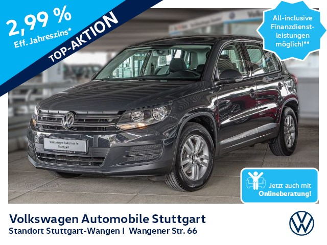 Volkswagen Tiguan Trend & Fun 1.4 TSI Navi PDC SHZ, Jahr 2014, Benzin
