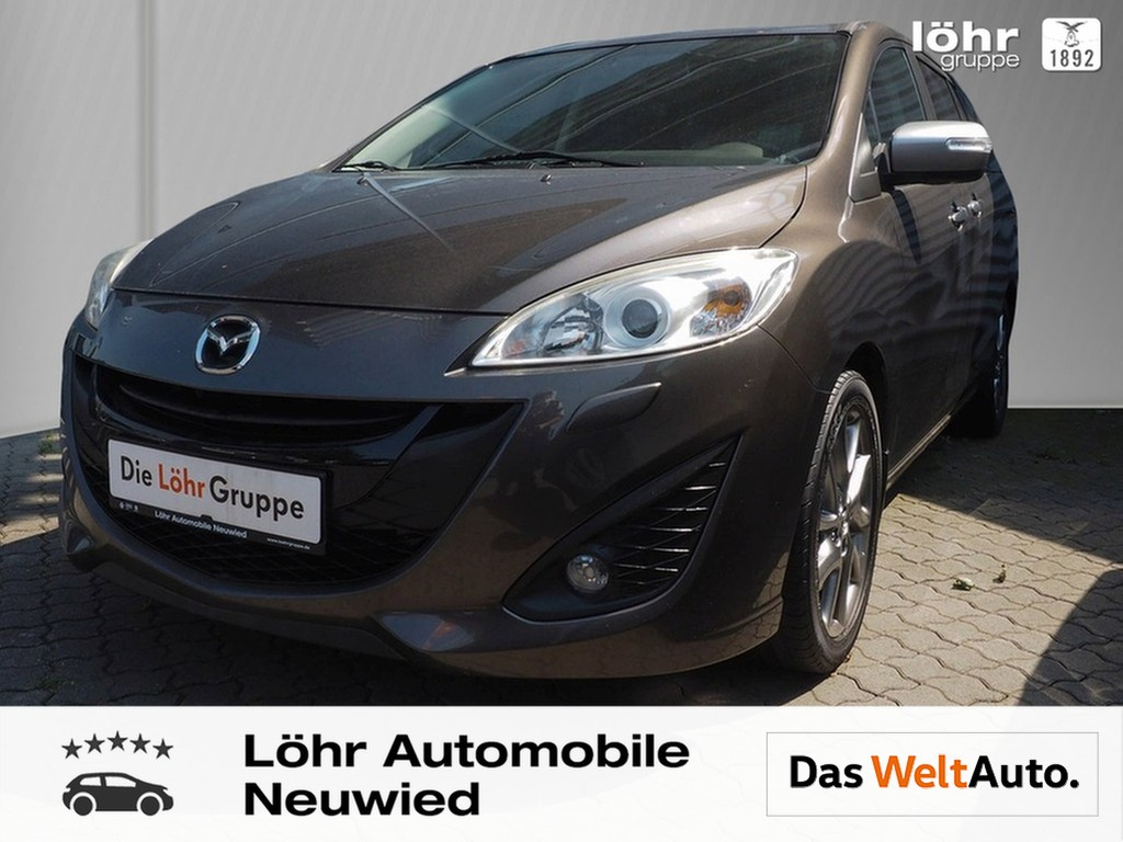 Mazda 5 2.0 Autom. Sendo / Navi/ Xenon/ 7-Sitze/ Alu, Jahr 2014, Benzin